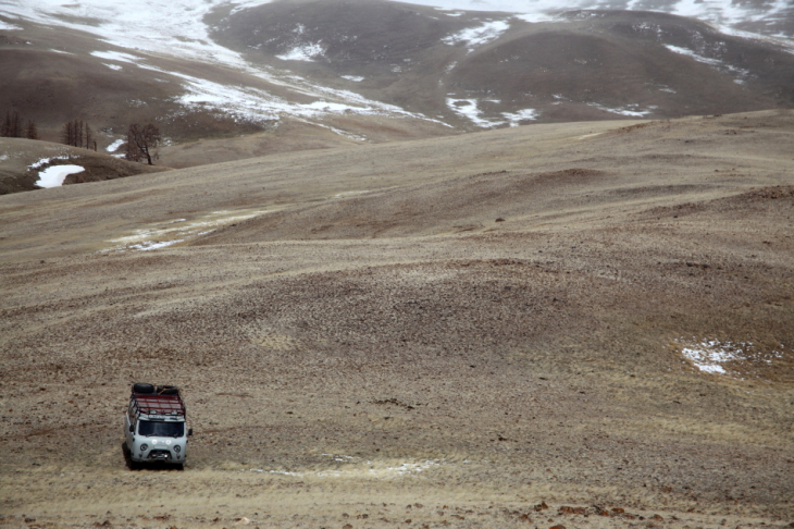 Russia - Altai 143 - On the road to Kyzyl Chin