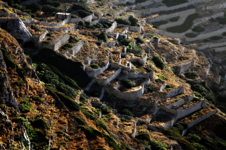Greece - Folegandros - Chora 153 - View from the hill of Panagia
