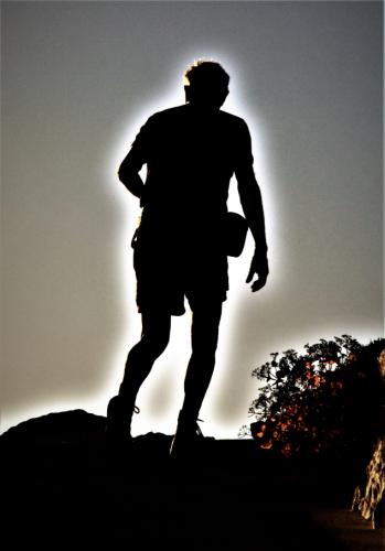 Greece - Folegandros - Chora 161 - Climbing the hill to Panagia