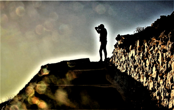 Greece - Folegandros - Chora 166 - Climbing the hill to Panagia
