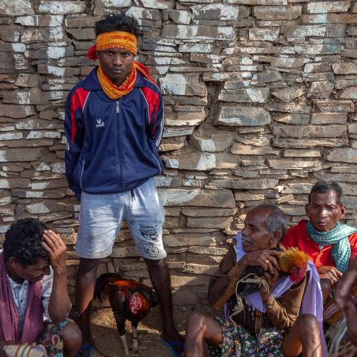 India - Chhattisgarh 163 - Tribal market on the road to Jagdalpur