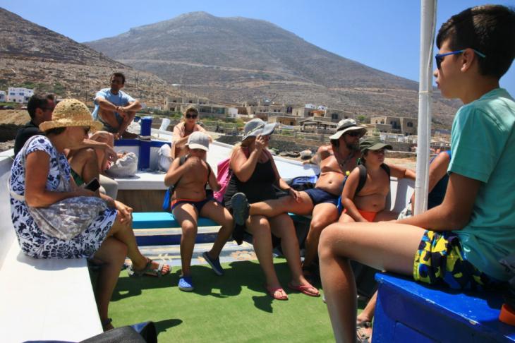 Greece - Amorgos 191 - On the boat to Nikouria island