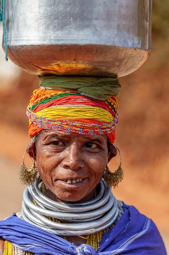 India - Odisha 198 - Ankadeli market - Bonda tribe