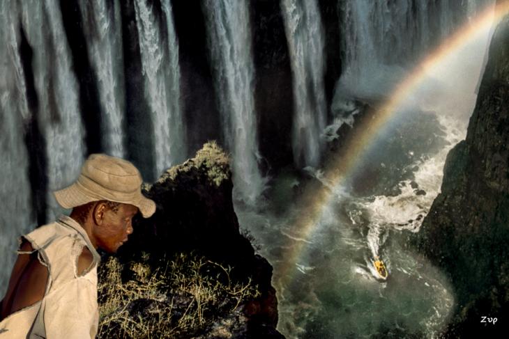 Zim - Zam 17, Zimbabwe - Victoria Falls