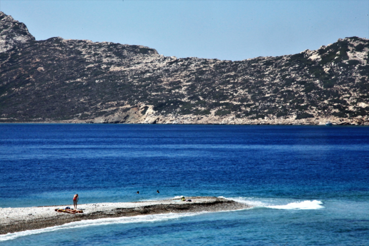Greece - Amorgos 200 - Nikouria island from Agios Pavlos