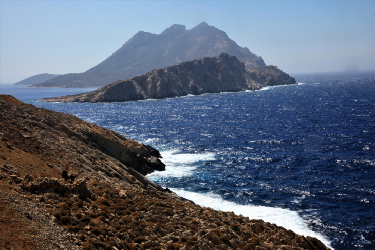 Greece - Amorgos 201 - Nikouria island driving back to Aigiali