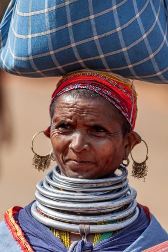 India - Odisha 203 - Ankadeli market - Bonda tribe