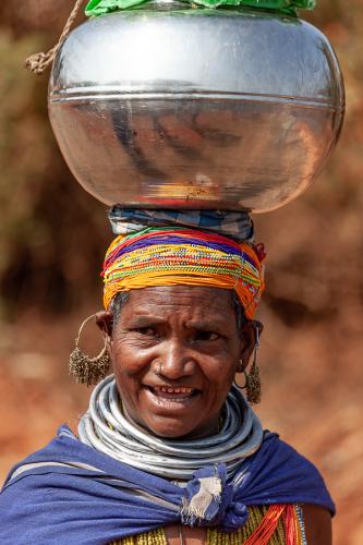 India - Odisha 206 - Ankadeli market - Bonda tribe