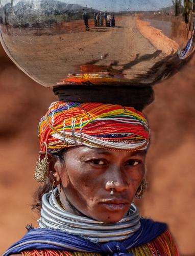 India - Odisha 211 - Ankadeli market - Bonda tribe