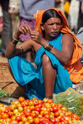 India - Odisha 219 - Ankadeli market