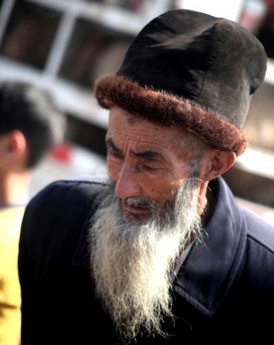 China - Xinjiang 282 - Kashgar - Sunday animal market