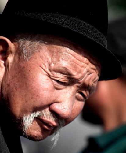 China - Xinjiang 295 - Kashgar - Sunday animal market