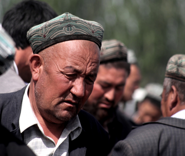 China - Xinjiang 298 - Kashgar - Sunday animal market