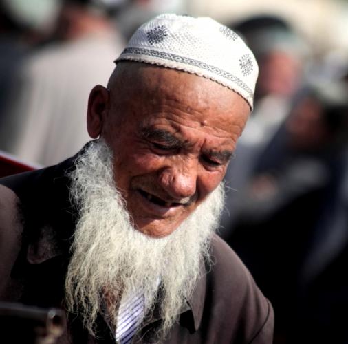 China - Xinjiang 323 - Kashgar - Sunday animal market