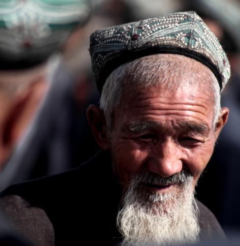 China - Xinjiang 327 - Kashgar - Sunday animal market