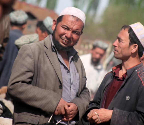 China - Xinjiang 330 - Kashgar - Sunday animal market