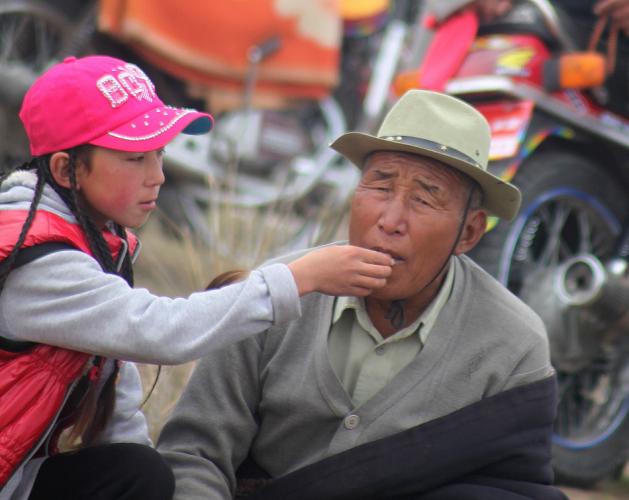 China - Gansu 330 - Xiahe area