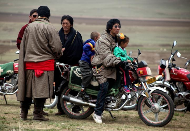 China - Gansu 335 - Xiahe area