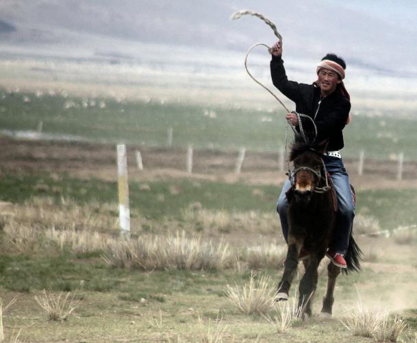 China - Gansu 344 - Xiahe area