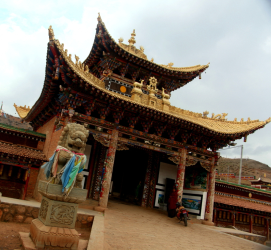 China - Gansu 384 - Xiahe area