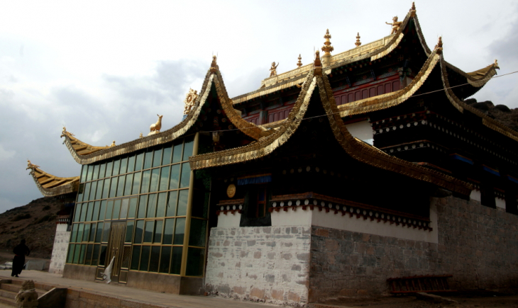 China - Gansu 389 - Xiahe area