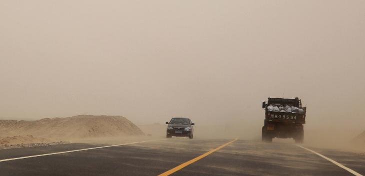 China - Xinjiang 634 - On the road to Hotan