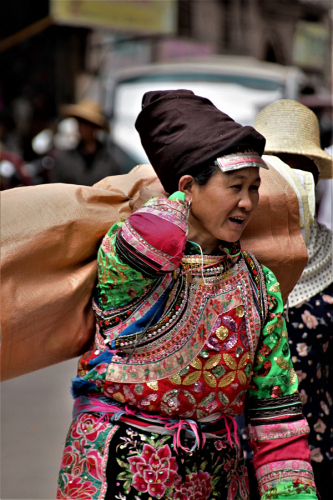 China - Yunnan 770- Dali surroundings - Minority market