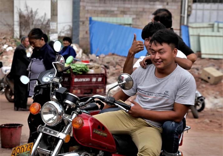 China - Yunnan 797- Dali surroundings - Minority market