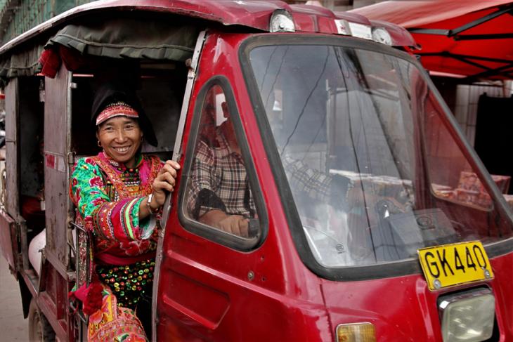 China - Yunnan 800 - Dali surroundings - Minority market