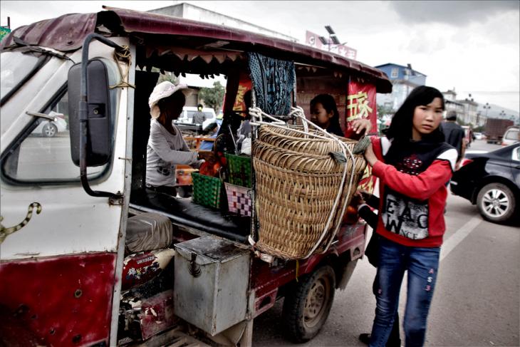 China - Yunnan 802 - Dali surroundings - Minority market