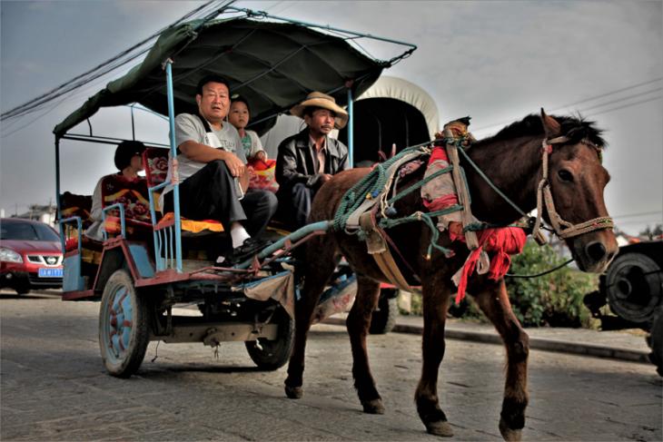 China - Yunnan 847- Dali surroundings - Xhizou village