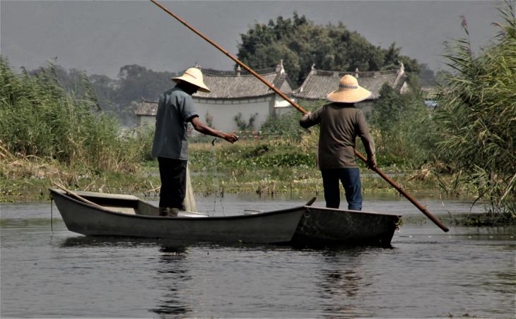 China - Yunnan 891 - Dali surroundings - Xihu lake