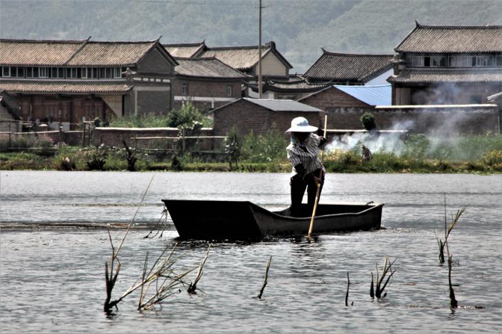 China - Yunnan 892 - Dali surroundings - Xihu lake