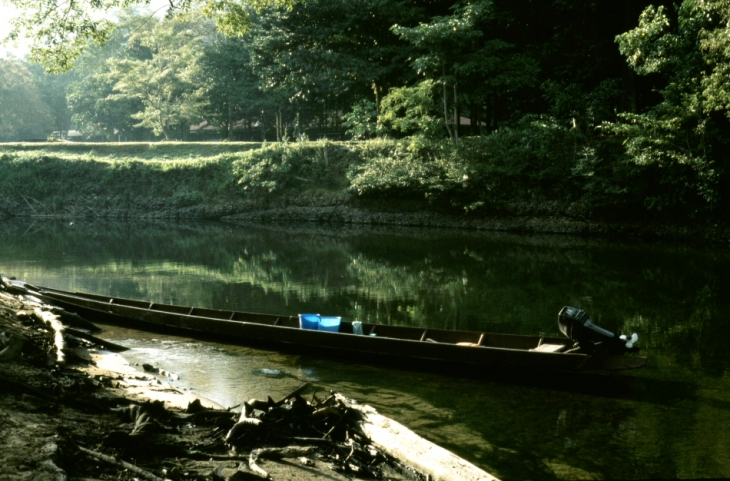Malaysia - Borneo, journey to the Iban tribe 009