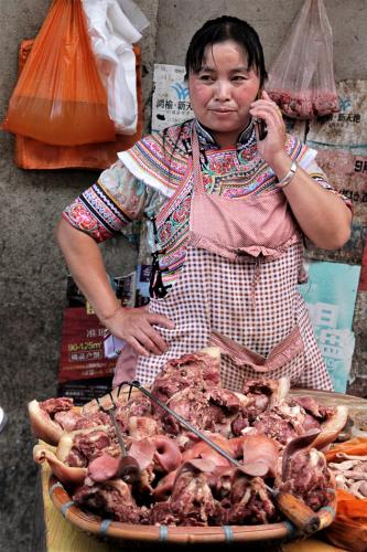 China - Yunnan 208 - Xinjie - Tribal market