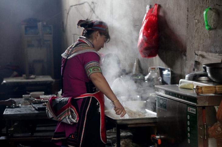 China - Yunnan 220 - Xinjie - Tribal market