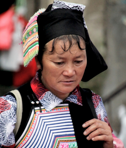 China - Yunnan 224 - Xinjie - Tribal market