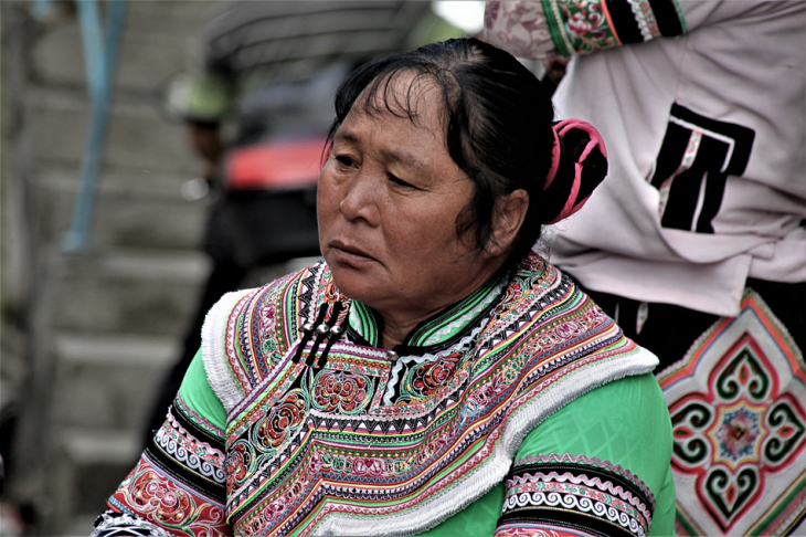 China - Yunnan 228 - Xinjie - Tribal market