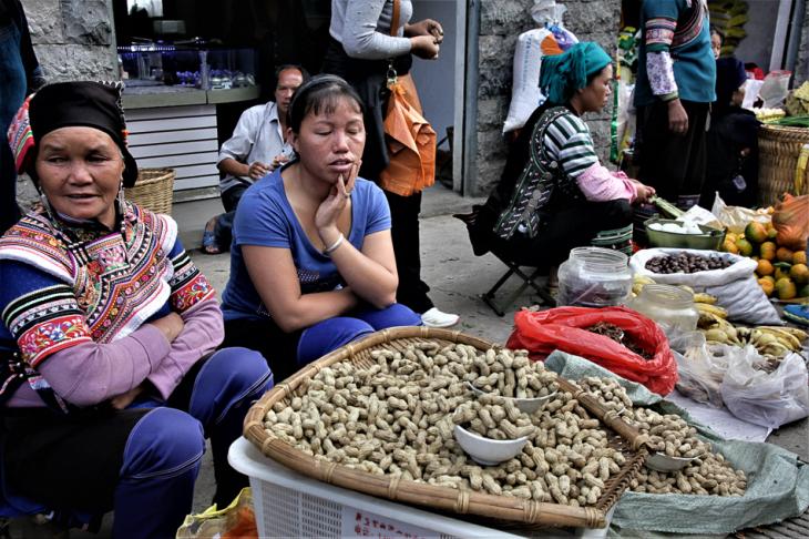 China - Yunnan 229 - Xinjie - Tribal market