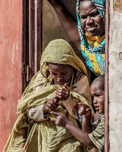 Mauritania - Tanichert oasis 008