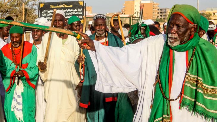 Sudan - Dervish ceremony 022
