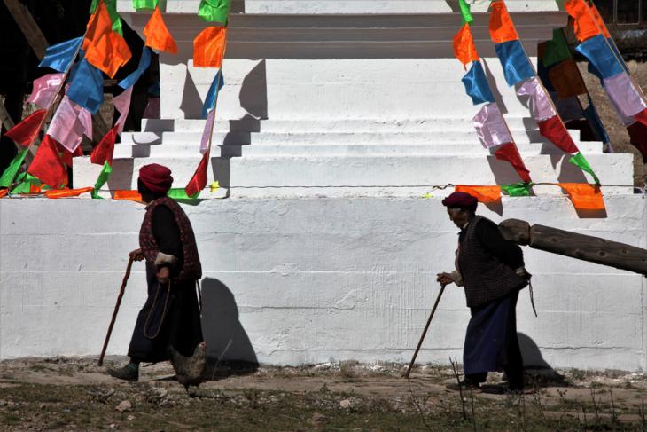 China - Yunnan 472 - Tibetan village - Shangri La area