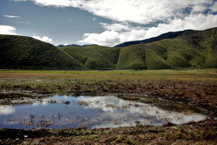 China - Yunnan 474 - Napa Lake - Shangri La area