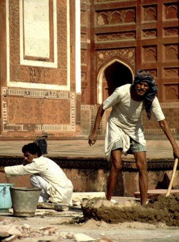 India - Agra 11 - Taj Mahal