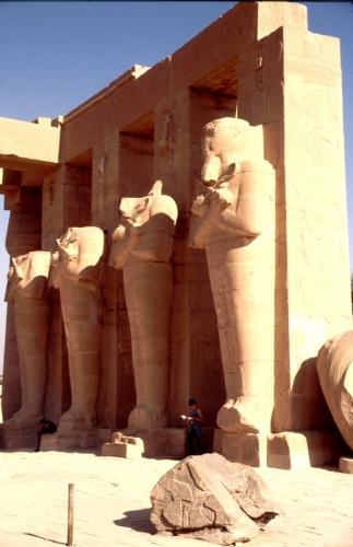 Egypt - Luxor 009 - West Bank - Ramesseum