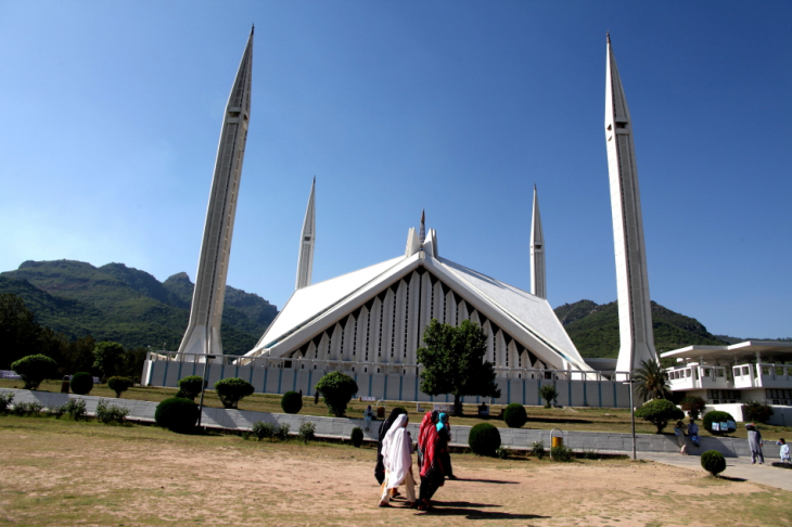 Pakistan - Islamabad 001 - Faisal Mosque