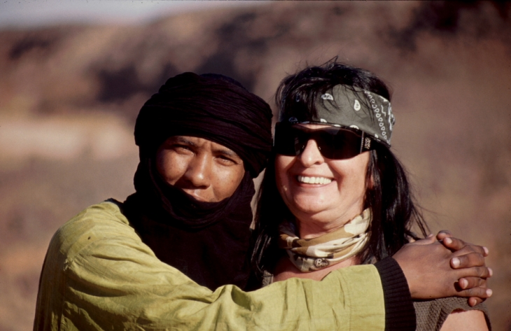 "Libya - Sahara desert 002 - The travel ""gang"""
