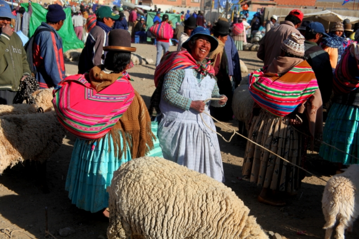 Bolivia - Itinerary La Paz-Sajama-Coipasa 003 / Patacamaya Sunday market