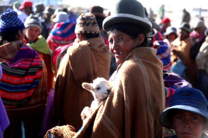Bolivia - Itinerary La Paz-Sajama-Coipasa 010 / Patacamaya Sunday market