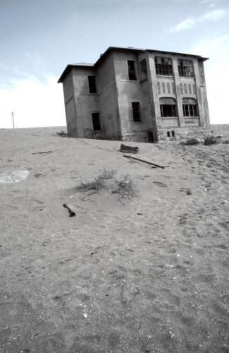 Namibia - Kolmanskop 011